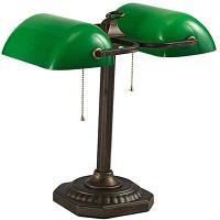 BEST READING GREEN GLASS DESK LAMP picks