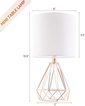 BEST SMALL GLAM DESK LAMP
