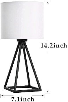 BEST SMALL MODERN FARMHOUSE LAMP