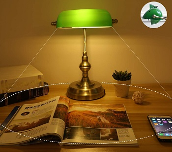 BEST SOLID BRASS BANKERS LAMP