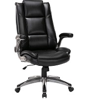 BEST STUDY BLACK LEATHER OFFICE CHAIR WITH WHEELS Summary
