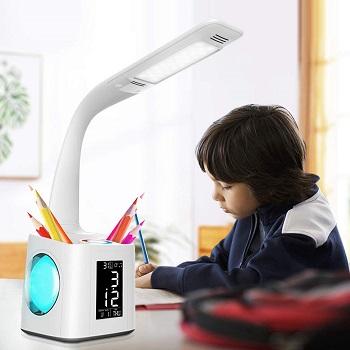 BEST STUDY DESK LAMP WITH CLOCK