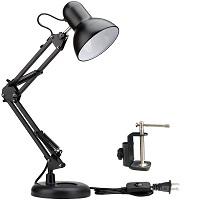 BEST SWING ARM BLACK METAL DESK LAMP picks