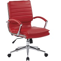 BEST SWIVEL RED LEATHER DESK CHAIR Summary