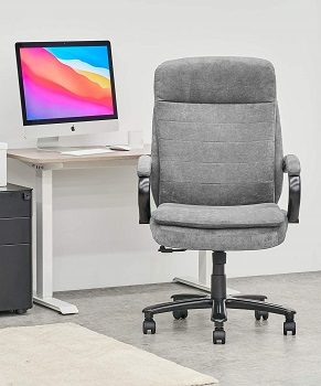 BEST TALL CLOTH OFFICE CHAIR WITH ARMS