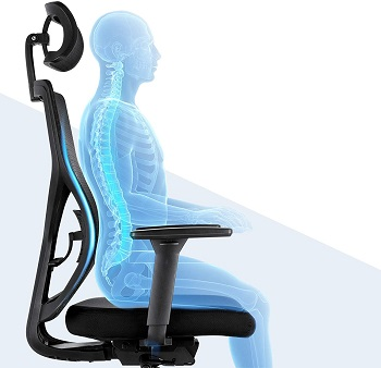 BEST TALL HOME OFFICE CHAIR WITH LUMBAR SUPPORT