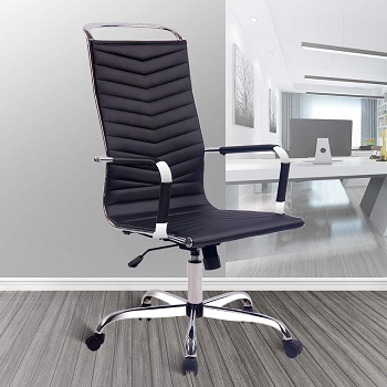 BEST TALL LEATHER CONFERENCE CHAIRS