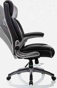 BEST TALL SMALL LEATHER DESK CHAIR