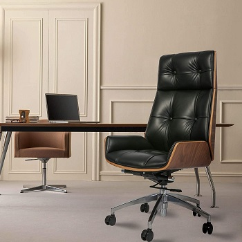 BEST TALL UPHOLSTERED EXECUTIVE OFFICE CHAIR