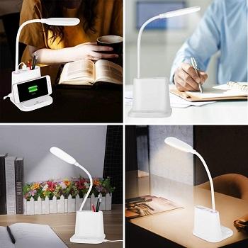 BEST USB DESK LAMP WITH ORGANIZER
