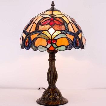 BEST VINTAGE FLOWER DESK LAMP
