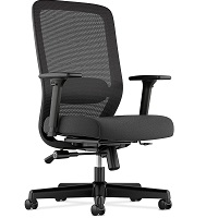 BEST WITH ARMRESTS BLACK MESH CHAIR Summary