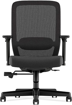 BEST WITH ARMRESTS BLACK MESH CHAIR