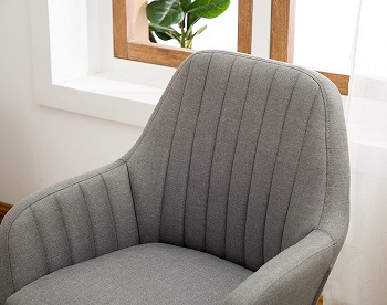 BEST WITH ARMRESTS FABRIC DESK CHAIR WITHOUT WHEELS