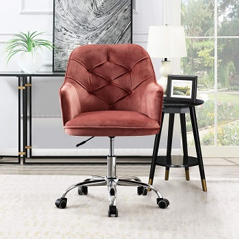 BEST WITH ARMRESTS HOME OFFICE CHAIR WITH WHEELS