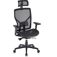 BEST WITH ARMRESTS MESH BOTTOM OFFICE CHAIR Summary