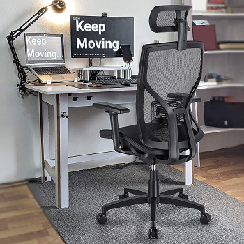 BEST WITH ARMRESTS MESH BOTTOM OFFICE CHAIR
