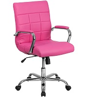 BEST WITH ARMRESTS PINK EXECUTIVE CHAIR Summary