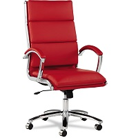BEST WITH ARMRESTS RED LEATHER OFFICE CHAIR Summary