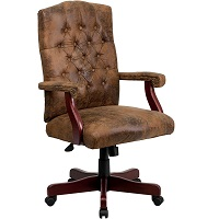 BEST WITH ARMRESTS WOODEN EXECUTIVE CHAIR Summary