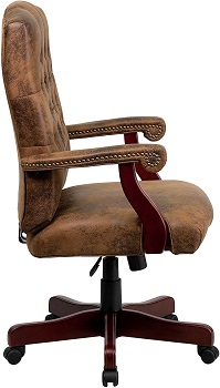 BEST WITH ARMRESTS WOODEN EXECUTIVE CHAIR
