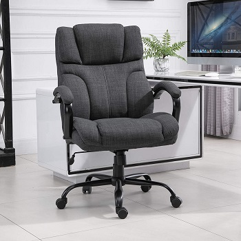 BEST WITH ARMS FABRIC DESK CHAIR WITH WHEELS