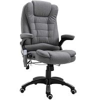 BEST WITH ARMS GRAY FABRIC OFFICE CHAIR Summary