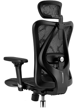BEST WITH BACK SUPPORT BLACK MESH CHAIR
