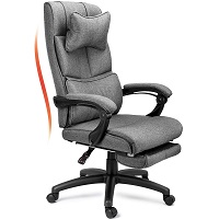 BEST WITH BACK SUPPORT FABRIC DESK CHAIR WITH WHEELS Summary