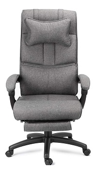 BEST WITH BACK SUPPORT FABRIC DESK CHAIR WITH WHEELS
