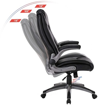 BEST WITH BACK SUPPORT SMALL LEATHER DESK CHAIR