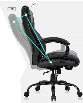 BEST WITH BACK SUPPORT XL OFFICE CHAIR