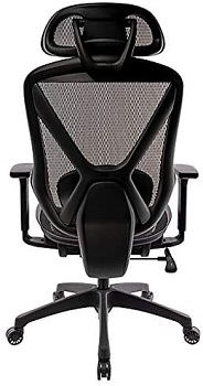 BEST WITH LUMBAR SUPPORT MESH CHAIR WITH HEADREST