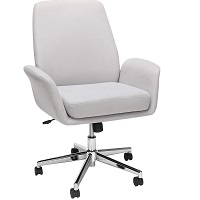 BEST WITH WHEELS FABRIC OFFICE CHAIR WITH ARMS Summary