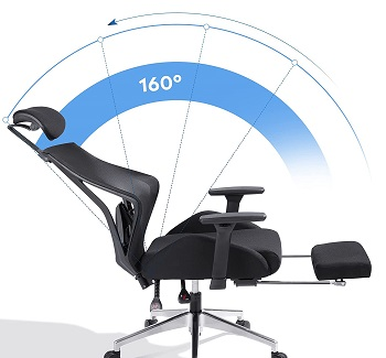 DEVAISE High-Back Chair