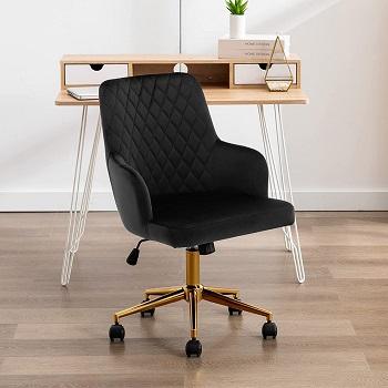 Duhome Velvet Office Chair
