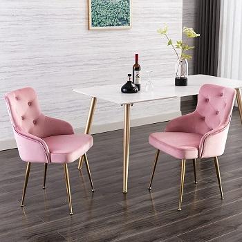 FCQuality Velvet Vanity Chair