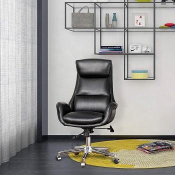 Glitzhome Adjustable Swivel Chair