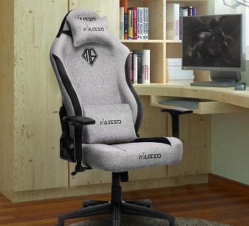 HugHouse Fabric Gaming Chair