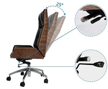 Koreyosh High-Back Chair