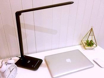 LE Dimmable LED Desk Lamp, 7-Level