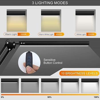 LEDFit Desk Lamp With Clamp