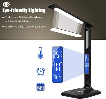 LEDGLE LED Desk Lamp with USB