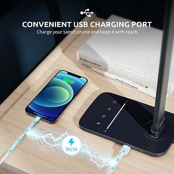 LITOM LED Desk Lamp for Home Office, Eye