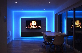 MINGER LED Strip Lights 16.4ft,