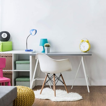 MaxLite LED Desk Lamp with USB Charging