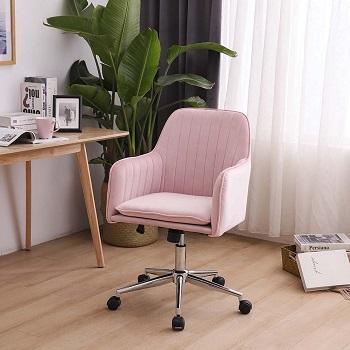 Mepplzian Velvet Office Chair