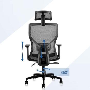 Molents Adjustable Desk Chair