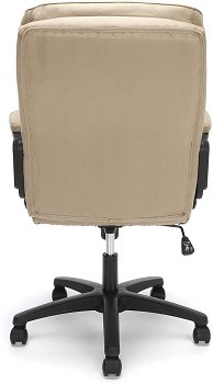 BEST OF BEST TAN LEATHER DESK CHAIR