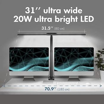 OTUS LED Desk Lamp Clamp 20W